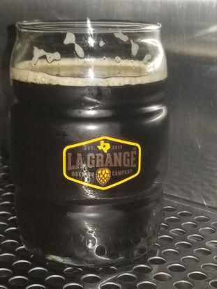 Barrel Pint Glass