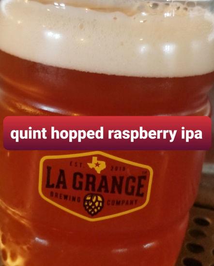 Snowmageddon - Quintuple hopped raspberry IPA